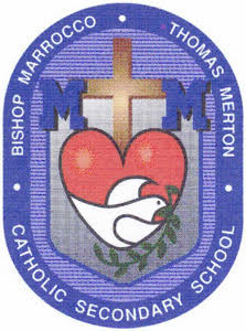 Bishop Marrocco Thomas Merton Logo